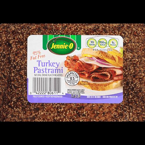 JENNIE-O® 95% Fat Free Turkey Pastrami