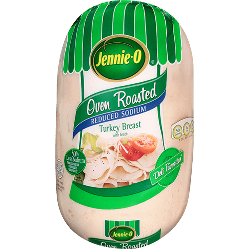 JENNIE-O® DELI FAVORITES® Oven Roasted, Reduced Sodium Turkey Breast