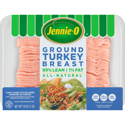 JENNIE-O® Extra Lean Ground Turkey Breast