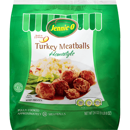 JENNIE-O® Fully Cooked Home Style Turkey Meatballs