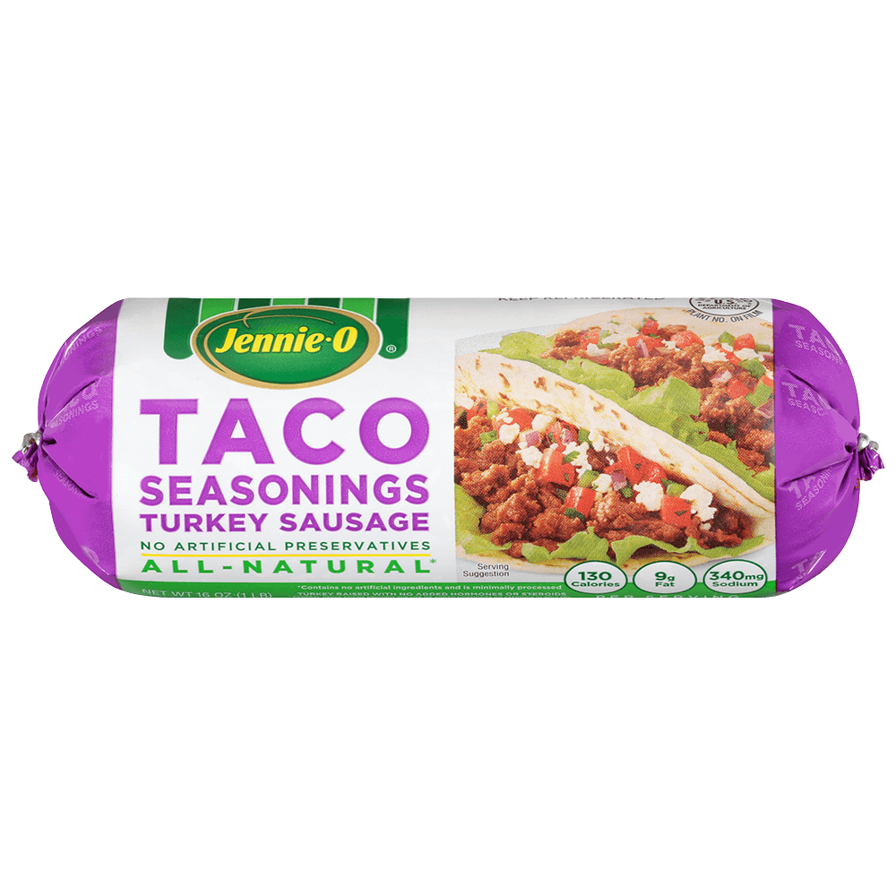 Taco Seasonings Turkey Sausage Jennie O Product