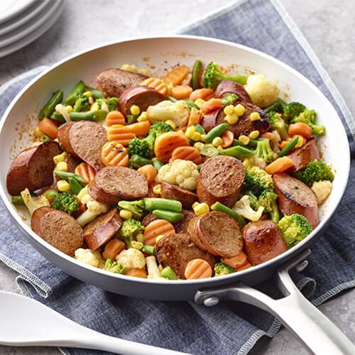 Andouille Turkey & Veggie Blend