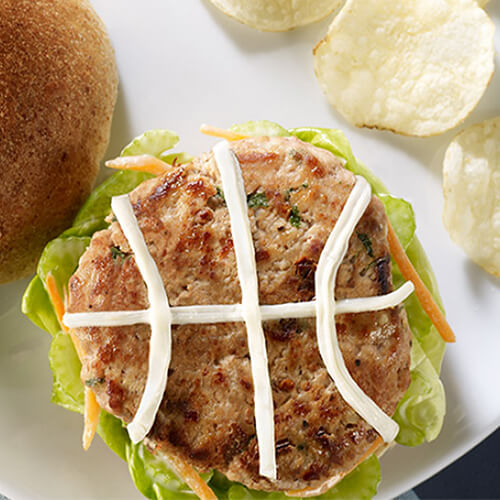 Basketball Turkey Burger
