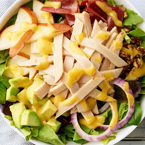 Chicken Pear & Avocado Salad