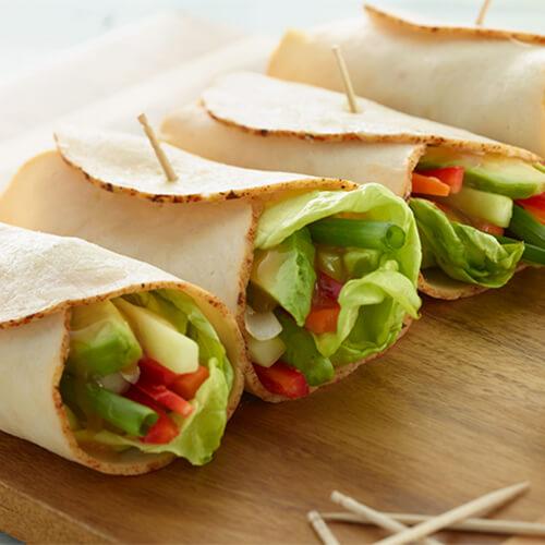 Chicken Vegetable Wrap