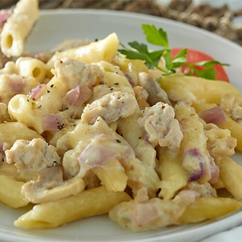 Creamy Parmesan & Turkey Penne