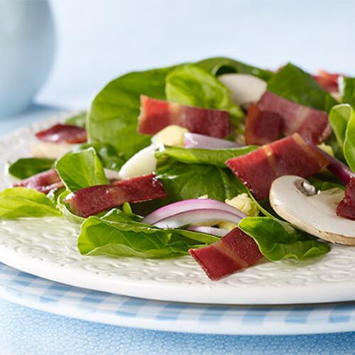 Egg & Turkey Bacon Salad