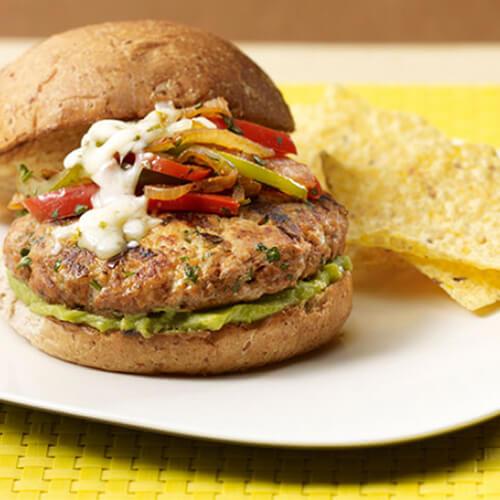 Fajita Turkey Burger