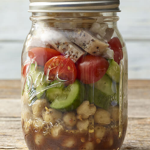 Five-Minute Mediterranean Salad