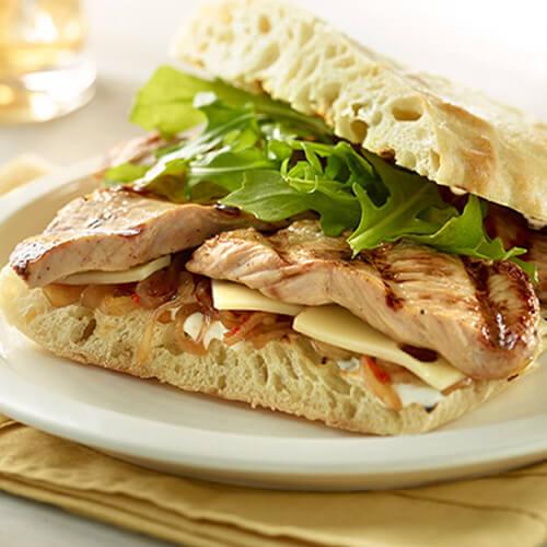 Grilled Turkey Breast Sandwich