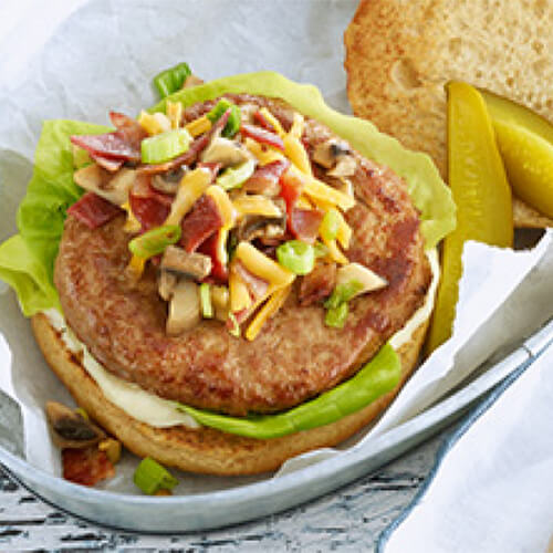 Loaded Turkey Burger
