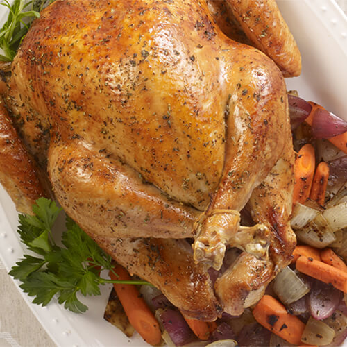 Make-Ahead Slow Roasted Turkey