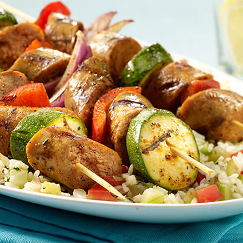 New Orleans Turkey Jambalaya Kabob
