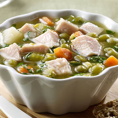 Pea Soup with Smoked Turkey