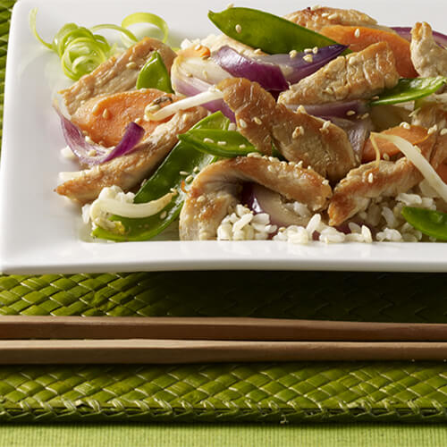 Sesame Turkey Stir-Fry