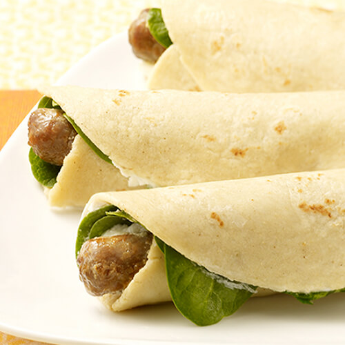 Simple Turkey Sausage Breakfast Rollers