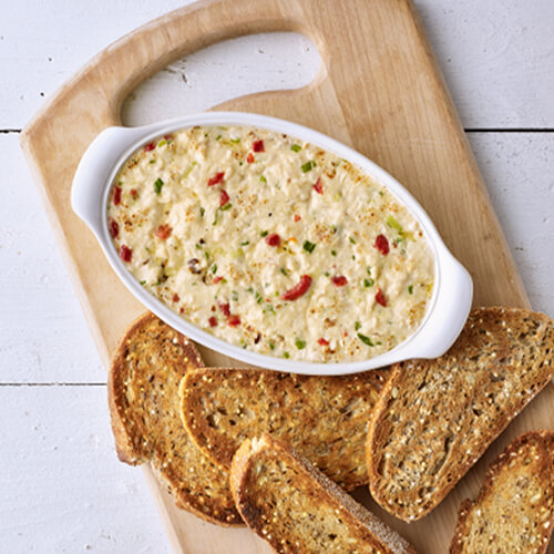 Smoked Gouda and Turkey Dip