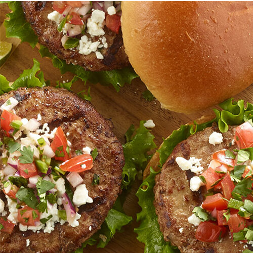 Summer Time Turkey Burgers