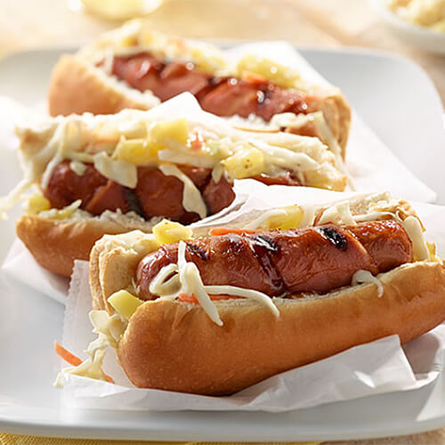 Sweet & Smoky Turkey Franks