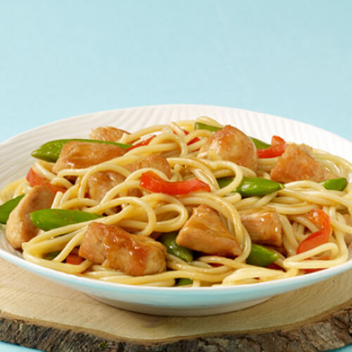 Tasty Turkey Lo Mein