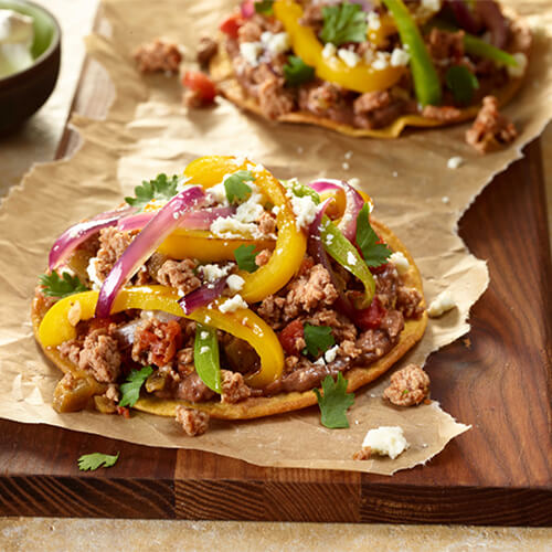 Terrific Turkey Tostados