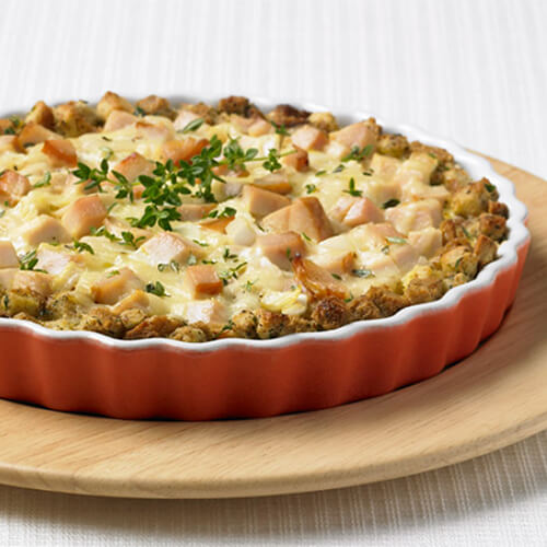 Thanksgiving Turkey Pie