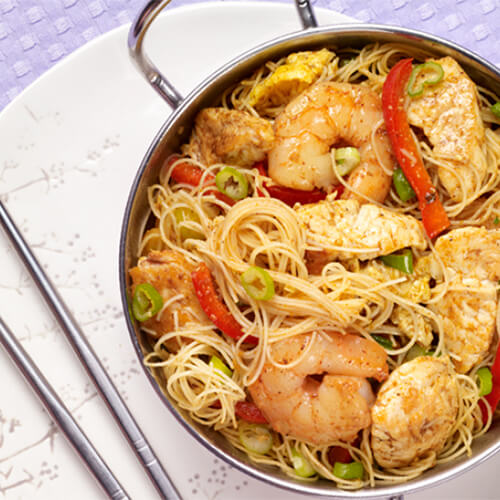 Turkey Singapore Rice Noodles