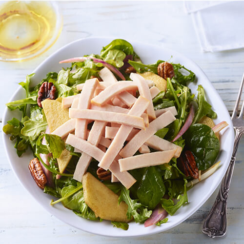 Turkey Apple Pecan Salad