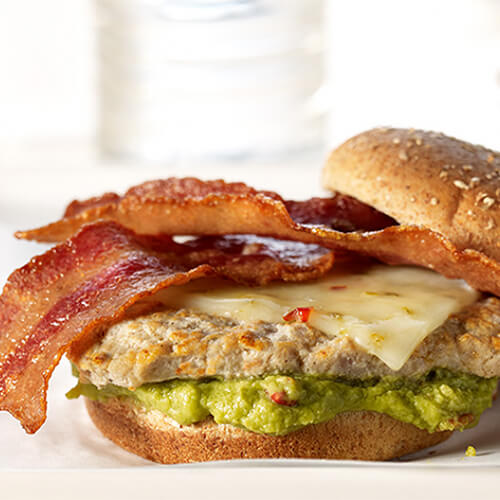 California Dreamin' Turkey Burger