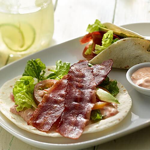 Turkey BLT with Salsa Mayo