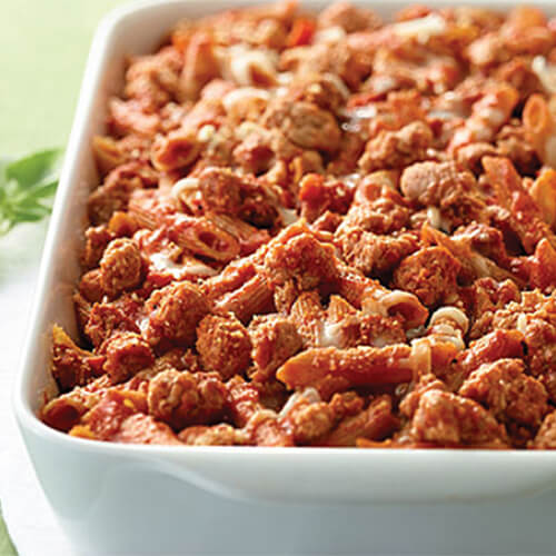 Turkey Bolognese Ziti