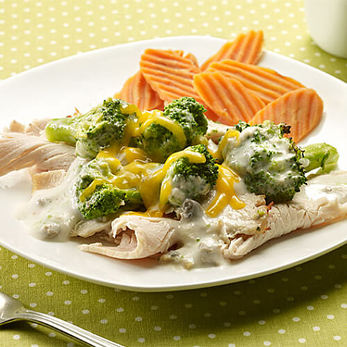 Turkey Broccoli & Cheese