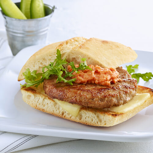 Turkey Burger & Sundried Tomato Mayo
