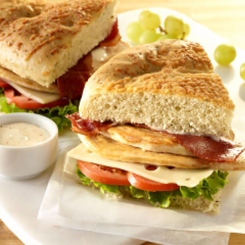 Turkey Focaccia Sandwiches Jennie O Recipes