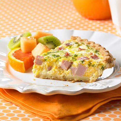 Turkey Ham Quiche