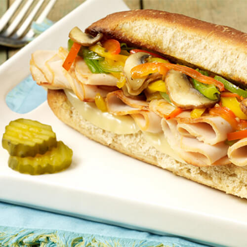 Turkey Philly Hoagie