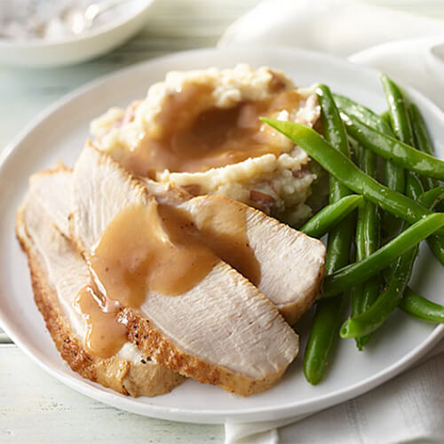 Turkey Roast with Potatoes & Green Beans