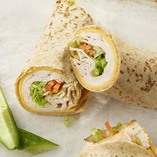 Turkey Tortilla Roll Up