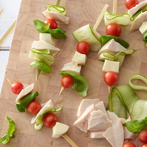 Turkey Veggie Snacks