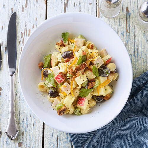 Waldorf Turkey Pasta Salad