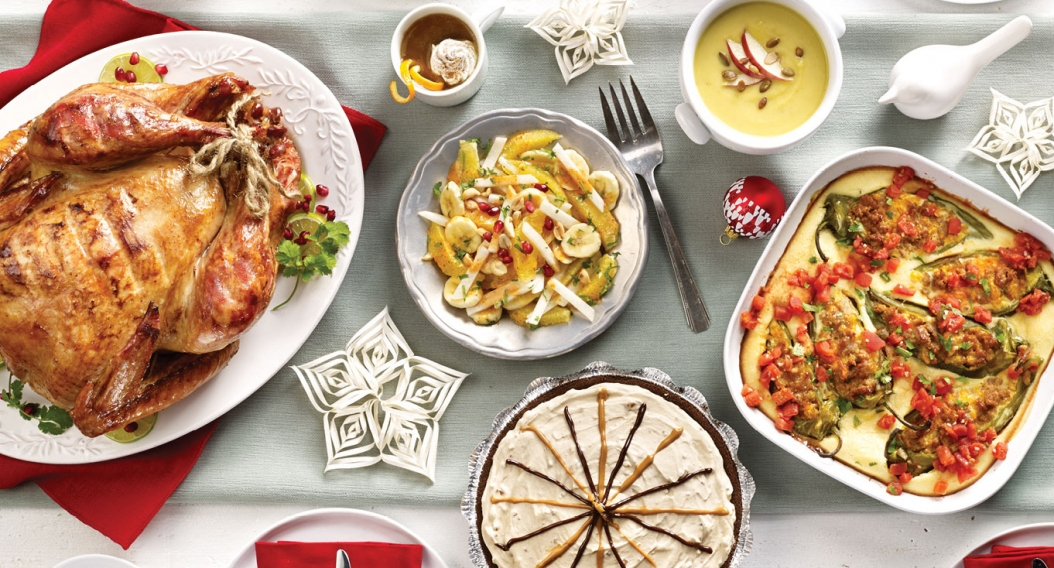 Flavor-Packed Holiday Menu