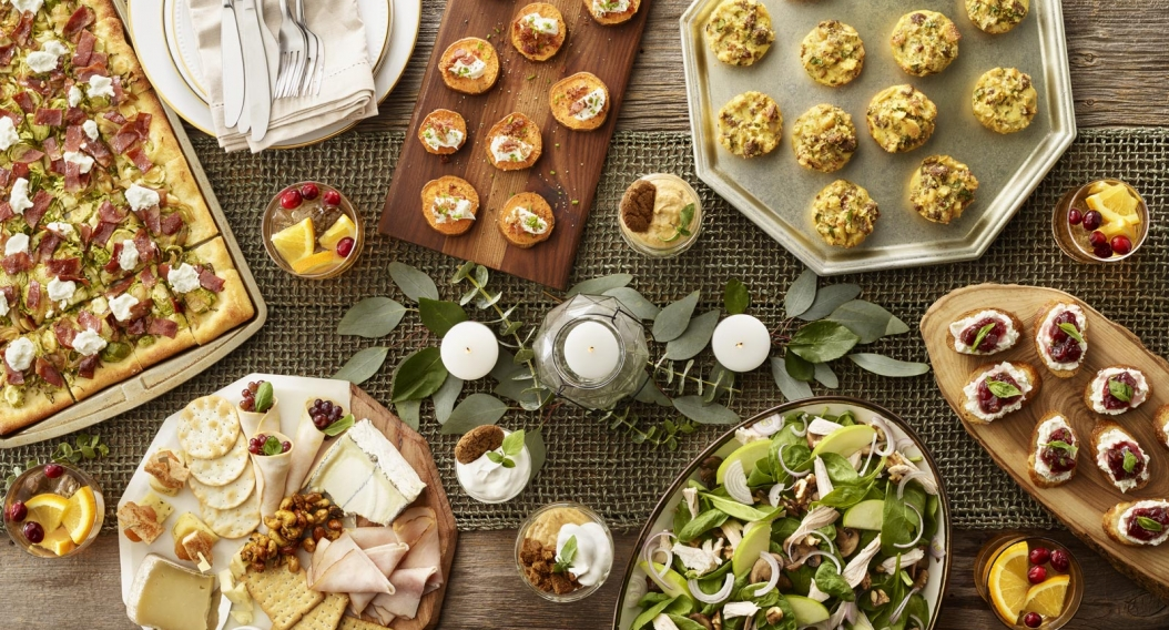Holiday Appetizer Menu