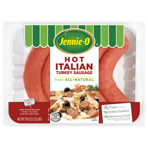 JENNIE-O® Lean Hot Italian Turkey Sausage