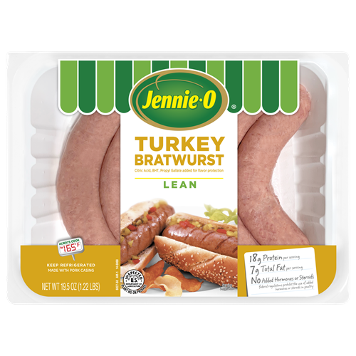 JENNIE-O® Lean Turkey Bratwurst