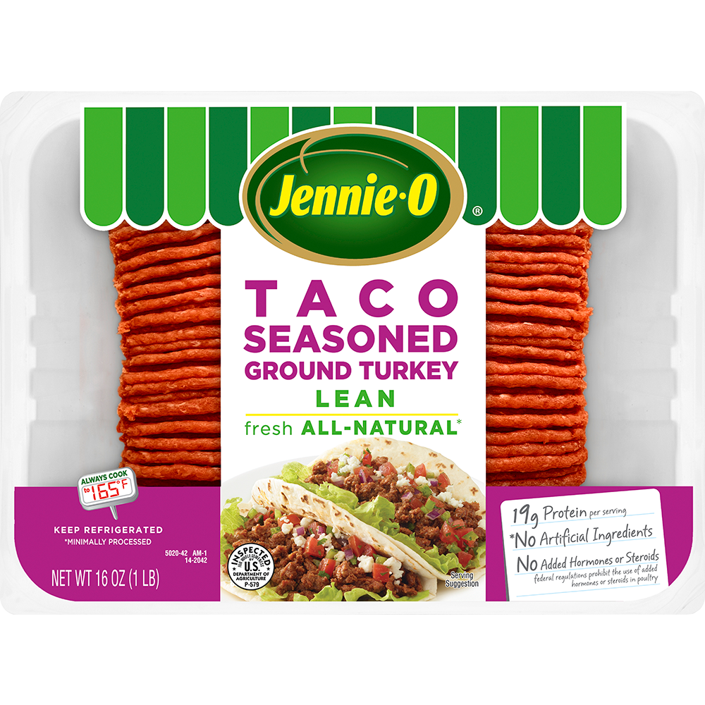 JENNIE-O® Lean Taco Seasoned Ground Turkey