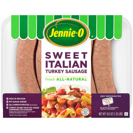 JENNIE-O® Lean Sweet Italian Turkey Sausage