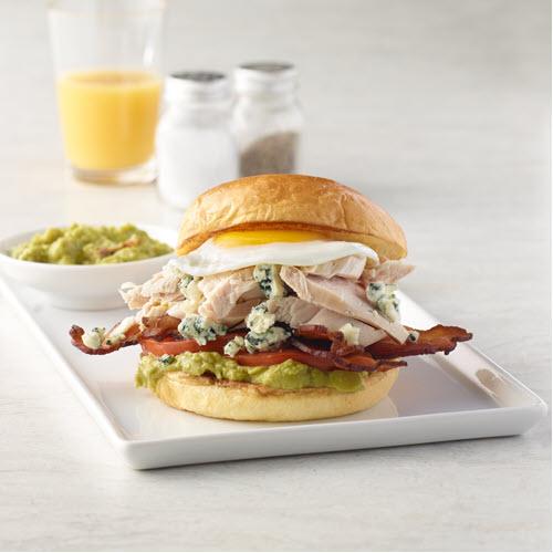 Jennieo turkey breakfast sandwich