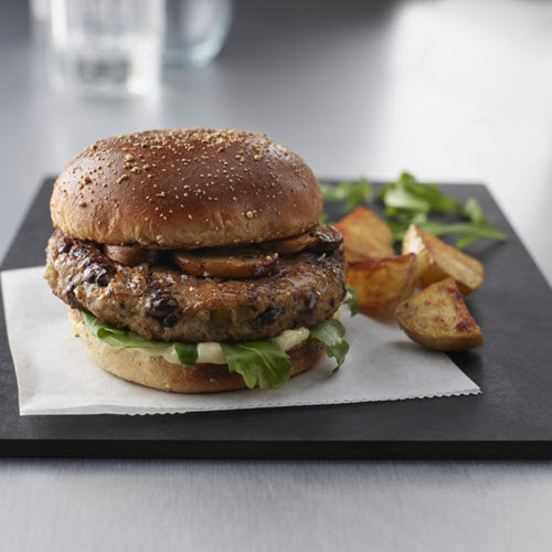 Mushroom Turkey Burger Blends