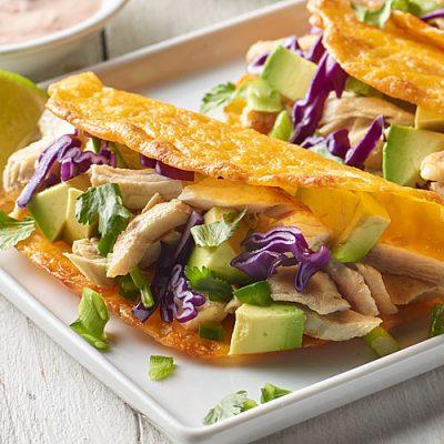 Baja Blast Turkey Tacos