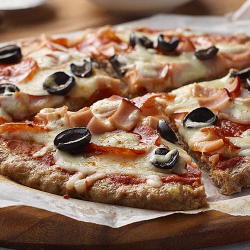 The Mighty Meatza Pizza